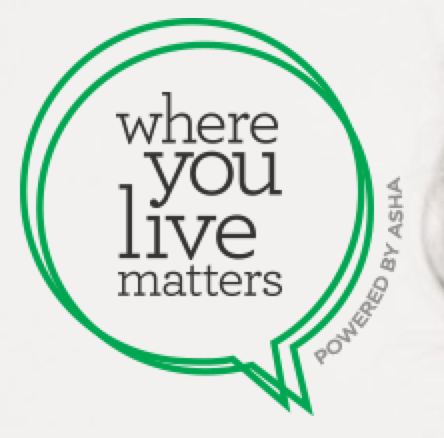 Where You Live Matters logo