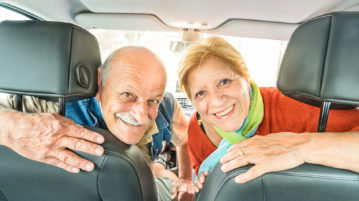 Taking a few extra steps such as installing driving aids and performing daily exercise can help keep older drivers safe