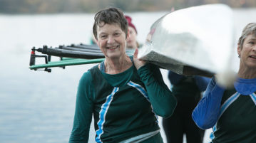 Women master the sport of rowing