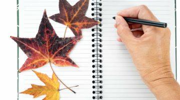 Journaling as we age