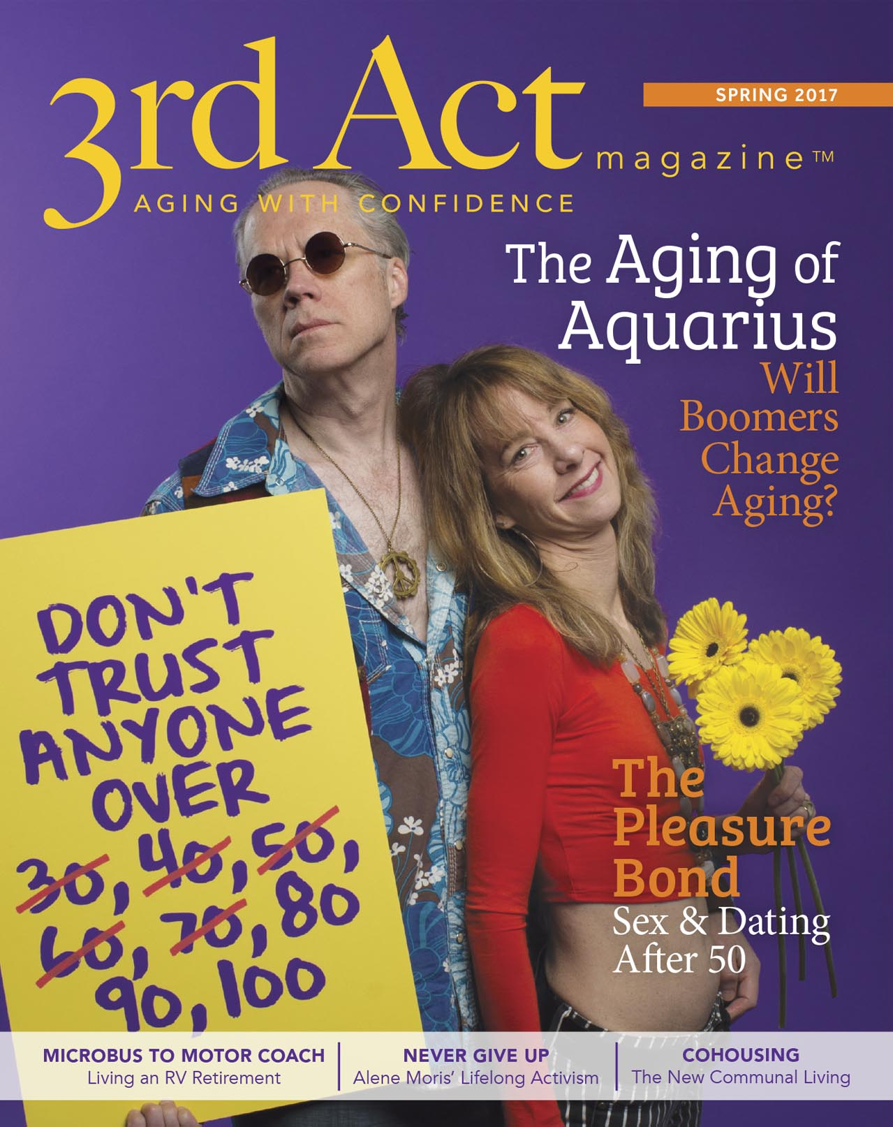 Joe and Nancy Guppy are younger members of the Boomer generation, but they have a deep understanding of what it means to age in the spotlight.