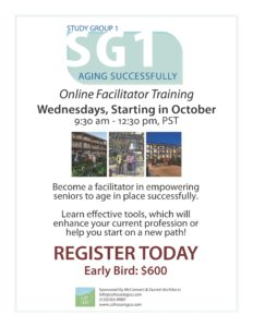 Study Group 1 Aging Successfully Online Facilitator Training @ Online | Chanute | Kansas | United States