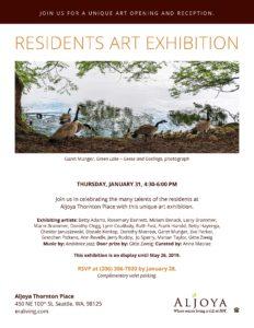 Residents Art Exhibition @ Aljoya Thornton Place