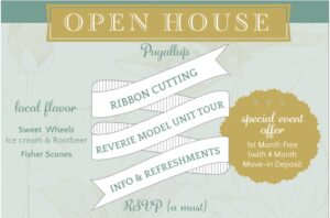 Reverie at Silver Creek 55 & Better Community - Open House May 22nd @ Reverie at Silver Creek 55 & Better Senior Community