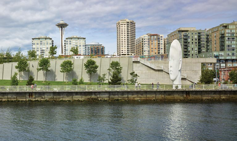Olympic Sculpture Park in Seattle.