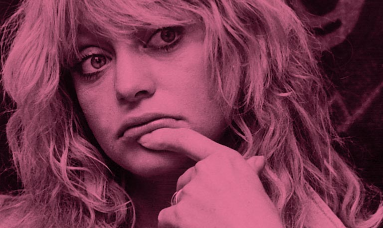 Goldie Hawn's Left Hand