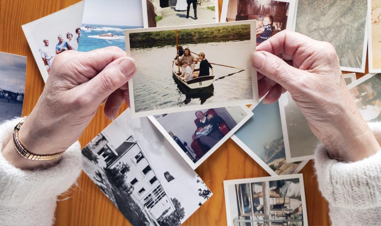 The Power of reminiscing about the past.