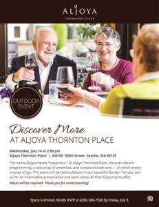 Discover Aljoya Thornton Place @ Aljoya Thornton Place        