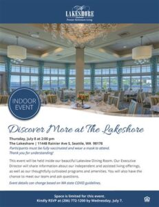 Indoor Event: Discover More at The Lakeshore @ The Lakeshore        