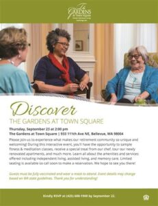 Discover The Gardens at Town Square @ The Gardens at Town Square Retirement Community |  |  |