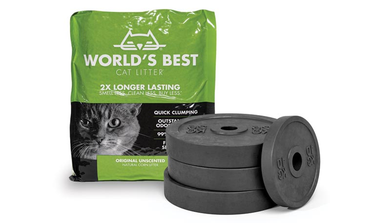 From Cat Litter to Barbells