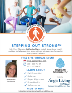 Stepping Out Strong @ Virtual Event         